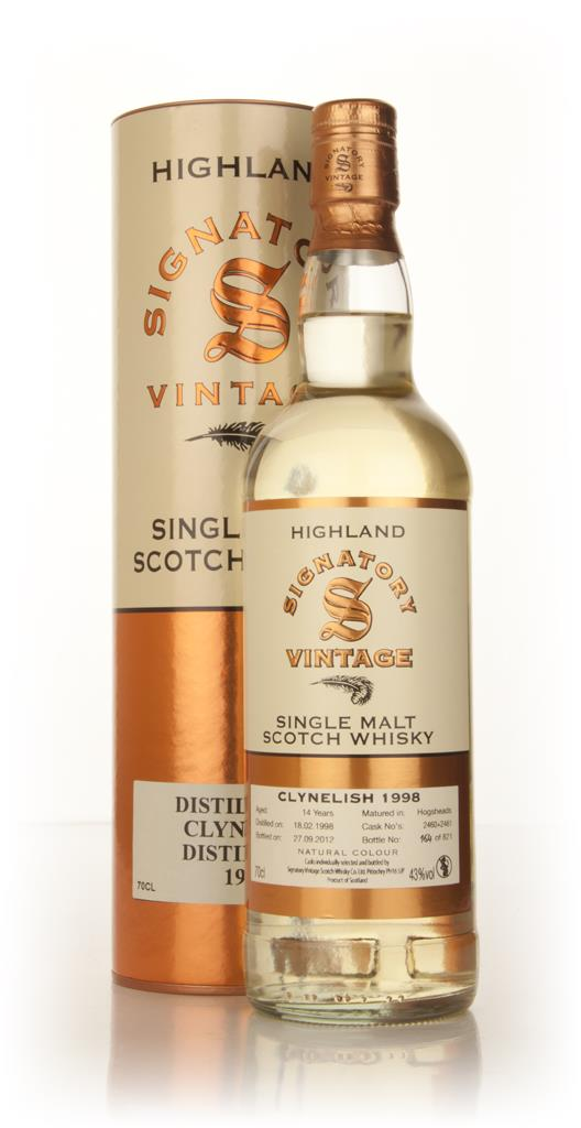 Clynelish 14 Year Old 1998 (casks 2460+2461) (Signatory) Single Malt Whisky