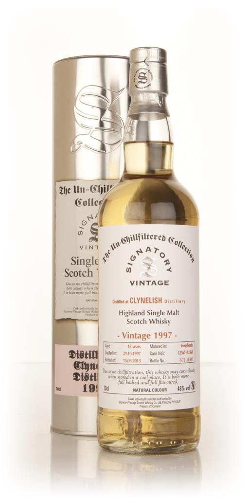 Clynelish 15 Year Old 1997 (casks 12367+12368) - Un-Chillfiltered (Sig Single Malt Whisky
