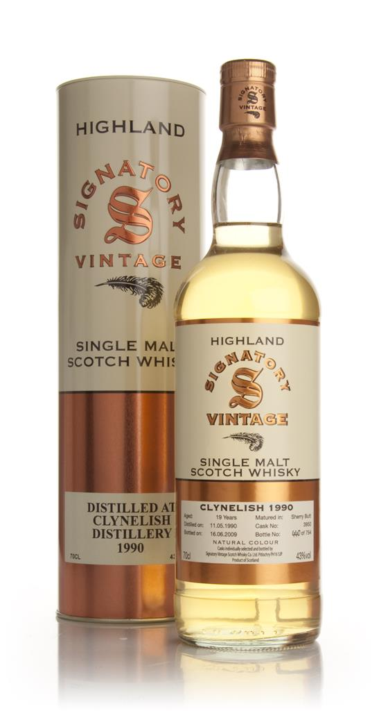Clynelish 19 Year Old 1990 (Signatory) Single Malt Whisky
