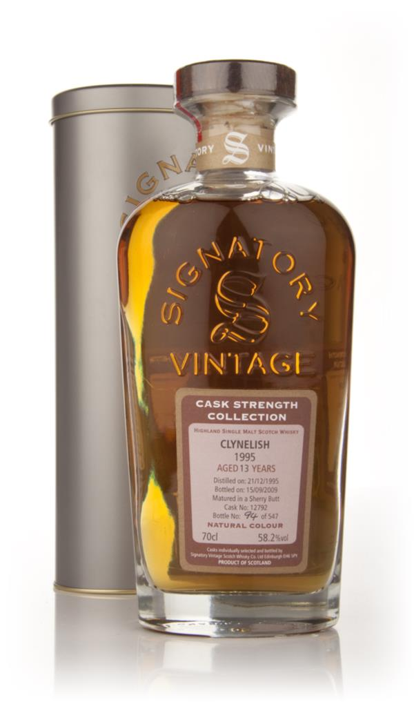 Clynelish 13 Year Old 1995 - Cask Strength Collection (Signatory) Single Malt Whisky