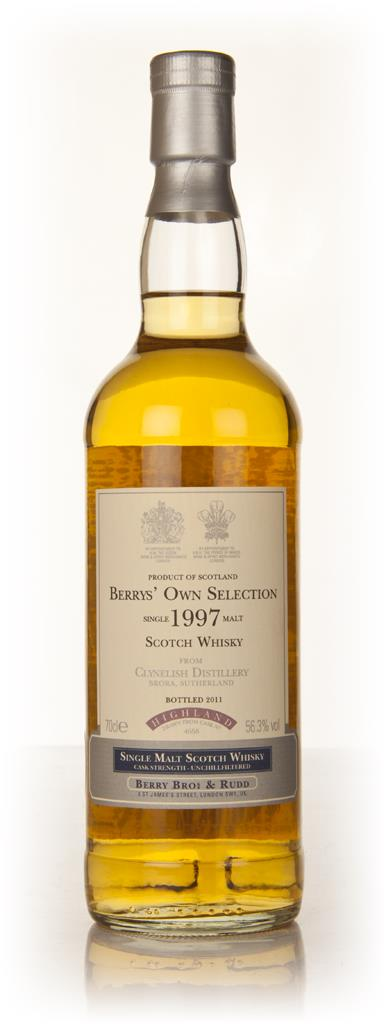 Clynelish 1997 (Berry Brothers and Rudd) Single Malt Whisky