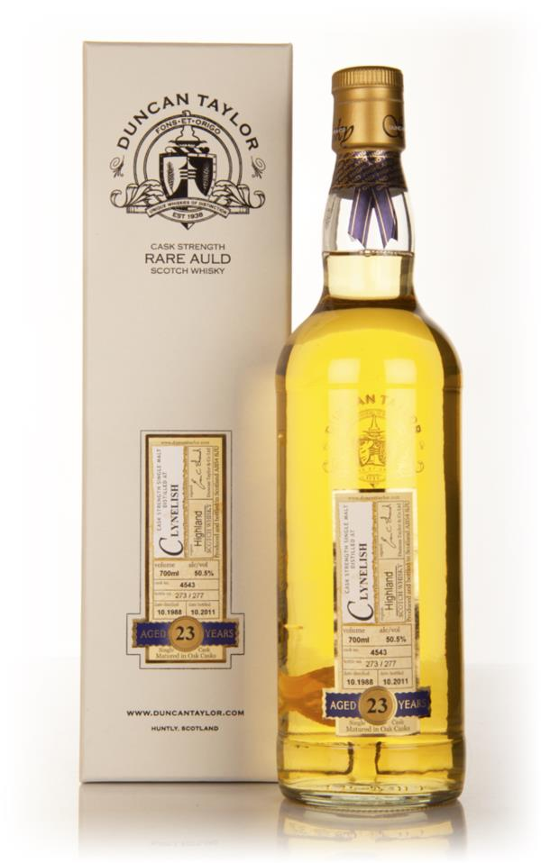 Clynelish 23 Year Old 1988 - Rare Auld (Duncan Taylor) Single Malt Whisky