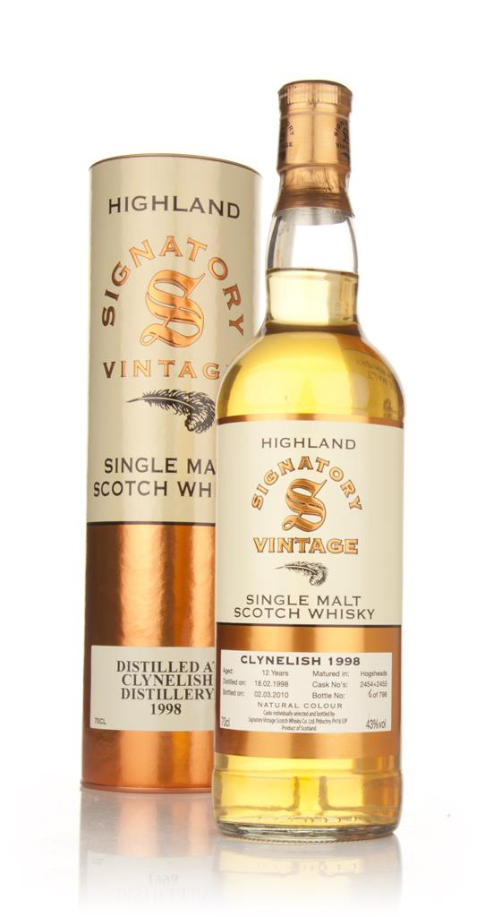 Clynelish 12 Year Old 1998 (Signatory) Single Malt Whisky