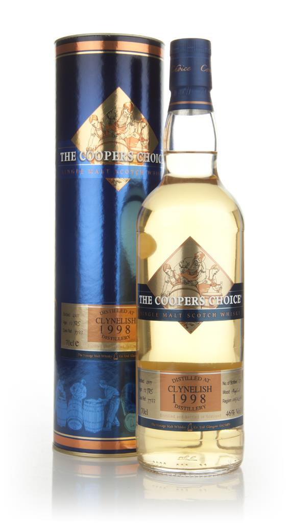 Clynelish 13 Year Old 1998 - The Coopers Choice Single Malt Whisky