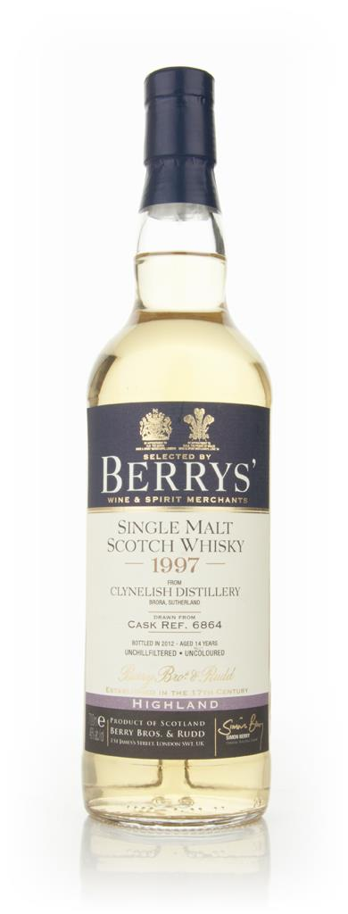 Clynelish 14 Year Old 1997 (Berry Brothers and Rudd) Single Malt Whisky