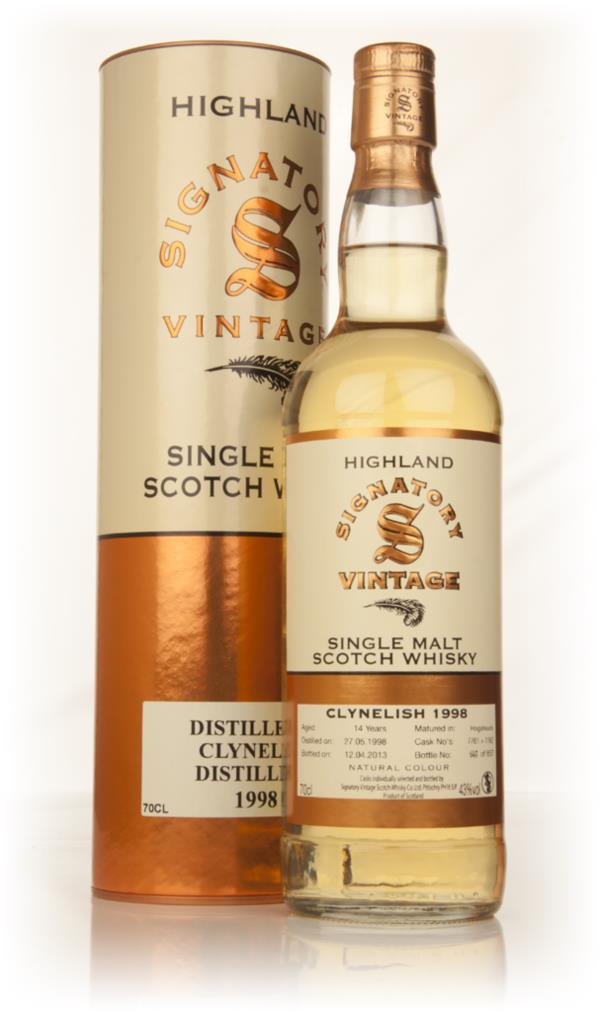 Clynelish 14 Year Old 1998 (casks 7761+7762) (Signatory) Single Malt Whisky