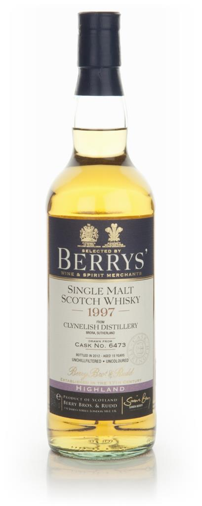 Clynelish 15 Year Old 1997 (Cask 6473) - (Berry Brothers and Rudd) Single Malt Whisky