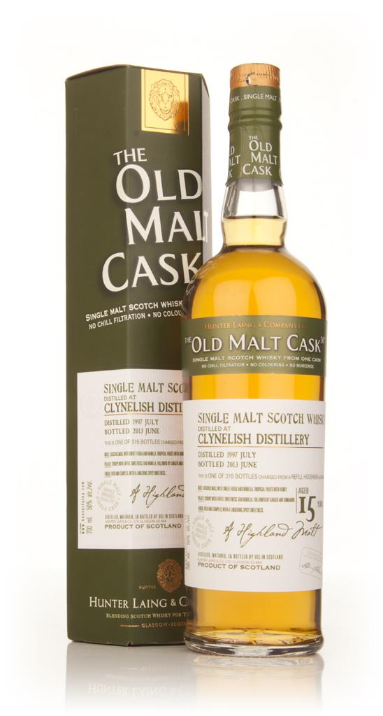 Clynelish 15 Year Old 1997 (cask 9881) - Old Malt Cask (Hunter Laing) Single Malt Whisky