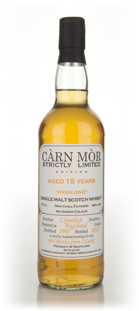 Clynelish 15 Year Old 1997 - Stricltly Limited (Carn Mor) Single Malt Whisky