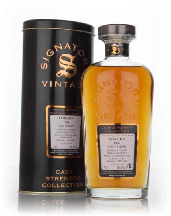 Clynelish 16 Year Old 1995 Cask 12795 - Cask Strength Collection (Sign Single Malt Whisky
