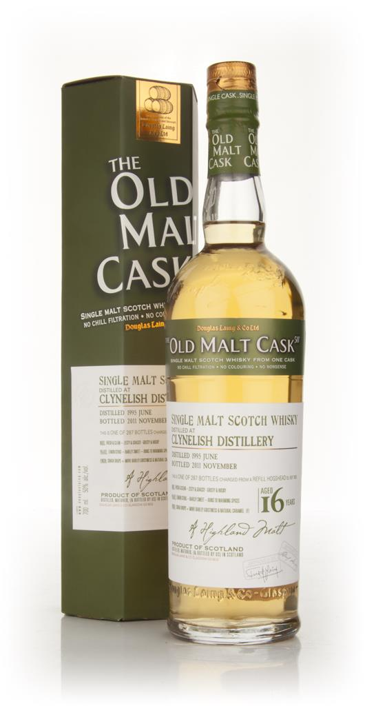 Clynelish 16 Year Old 1995 - Old Malt Cask (Douglas Laing) Single Malt Whisky