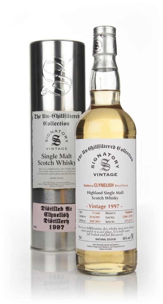 Clynelish 16 Year Old 1997 (casks 12371+12372) - Un-Chillfiltered (Sig Single Malt Whisky