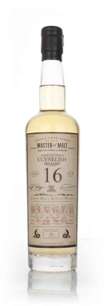 Clynelish 16 Year Old 1997 - Single Cask (Master of Malt) Single Malt Whisky