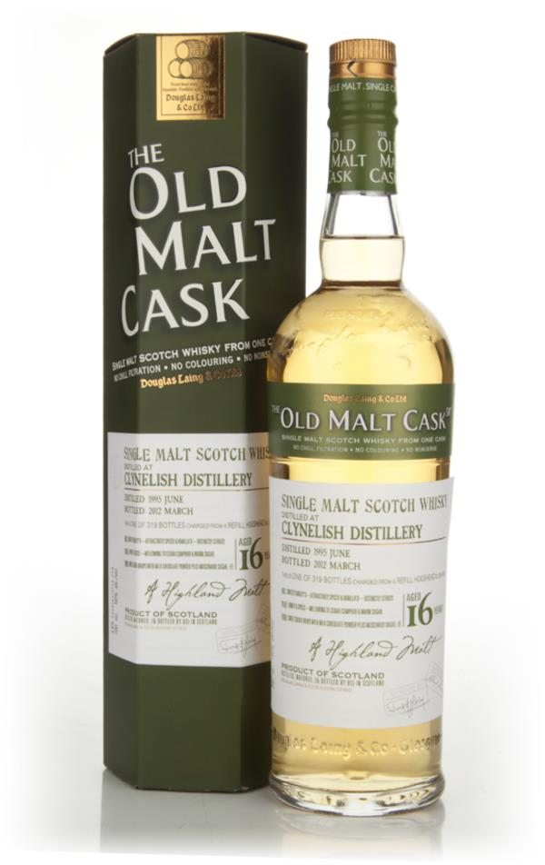 Clynelish 16 Years Old 1995 - Old Malt Cask (Douglas Laing) Single Malt Whisky