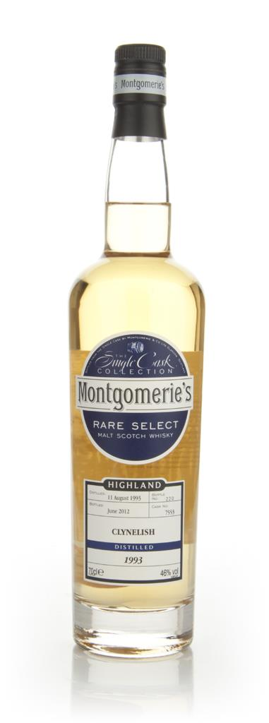 Clynelish 1993 - Rare Select (Montgomeries) Single Malt Whisky