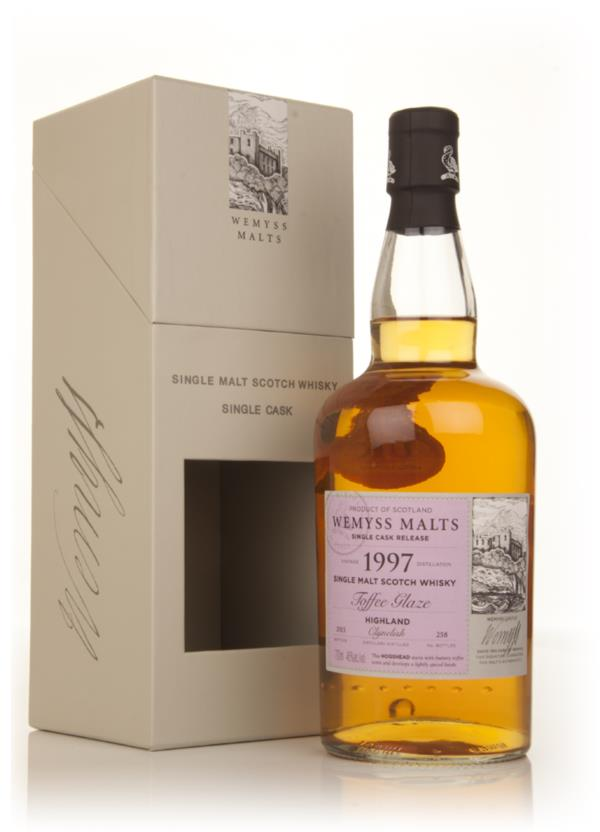 Toffee Glaze 1997 - Wemyss Malts (Clynelish) Single Malt Whisky