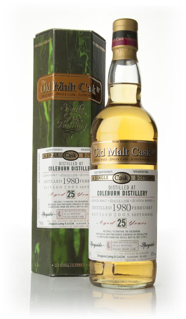 Coleburn 25 Year Old 1980 - Old Malt Cask (Douglas Laing) Single Malt Whisky
