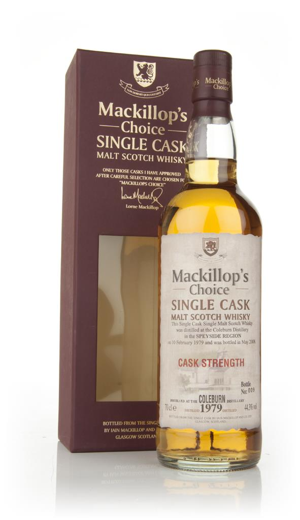 Coleburn 29 Year Old 1979 (Mackillops) Single Malt Whisky