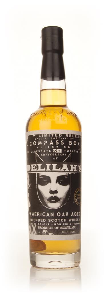 Compass Box Delilahs 20th Anniversary Celebration Blended Whisky