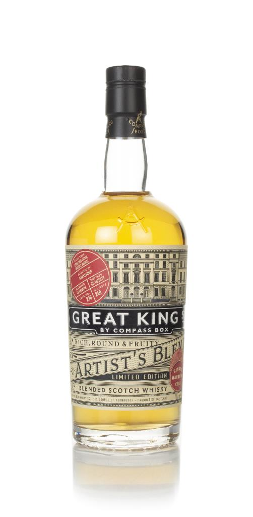 Compass Box Great King Street - Artist's Blend Single Marrying Cask (c Blended Whisky