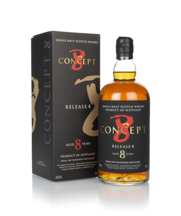 Teaninich 8 Year Old (Release 4) - Concept 8 Single Malt Whisky