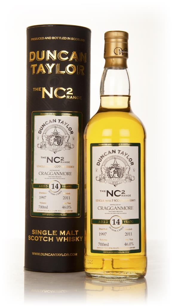 Cragganmore 14 Year Old 1997 - NC2 (Duncan Taylor) Single Malt Whisky