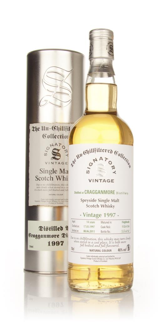 Cragganmore 14 Year Old 1997 - Un-Chillfiltered (Signatory) Single Malt Whisky