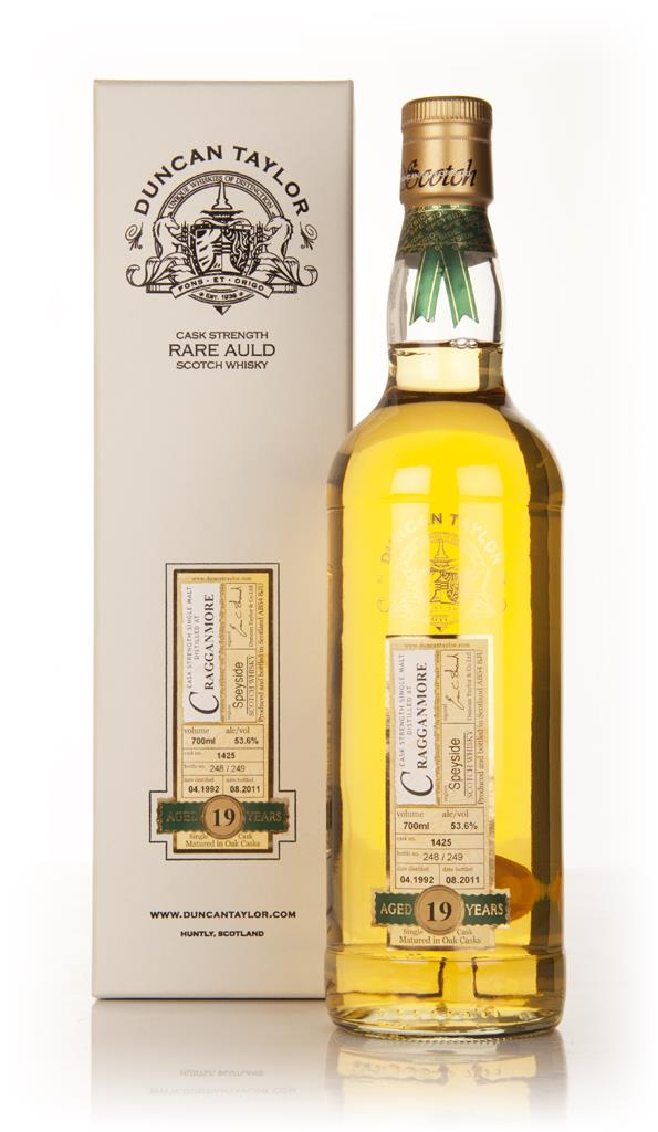 Cragganmore 19 Year Old 1992 - Rare Auld (Duncan Taylor) Single Malt Whisky