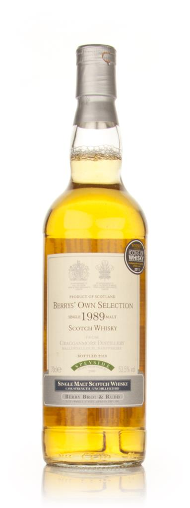 Cragganmore 1989 (Berry Bros. & Rudd) Single Malt Whisky