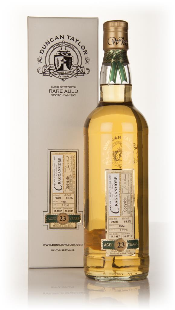 Cragganmore 23 Year Old 1987 - Rare Auld (Duncan Taylor) Single Malt Whisky