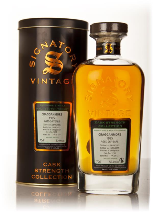 Cragganmore 26 Year Old 1985 - Cask Strength Collection (Signatory) Single Malt Whisky