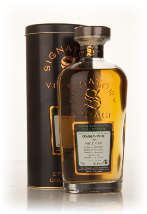 Cragganmore 27 Year Old 1985 (cask 1240) - Cask Strength Collection (S Single Malt Whisky