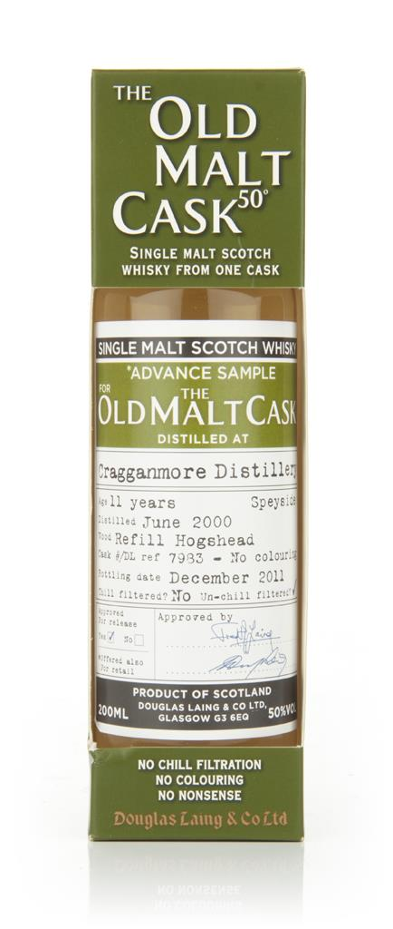 Cragganmore 11 Year Old 2000 - Old Malt Cask  (Douglas Laing) Single Malt Whisky