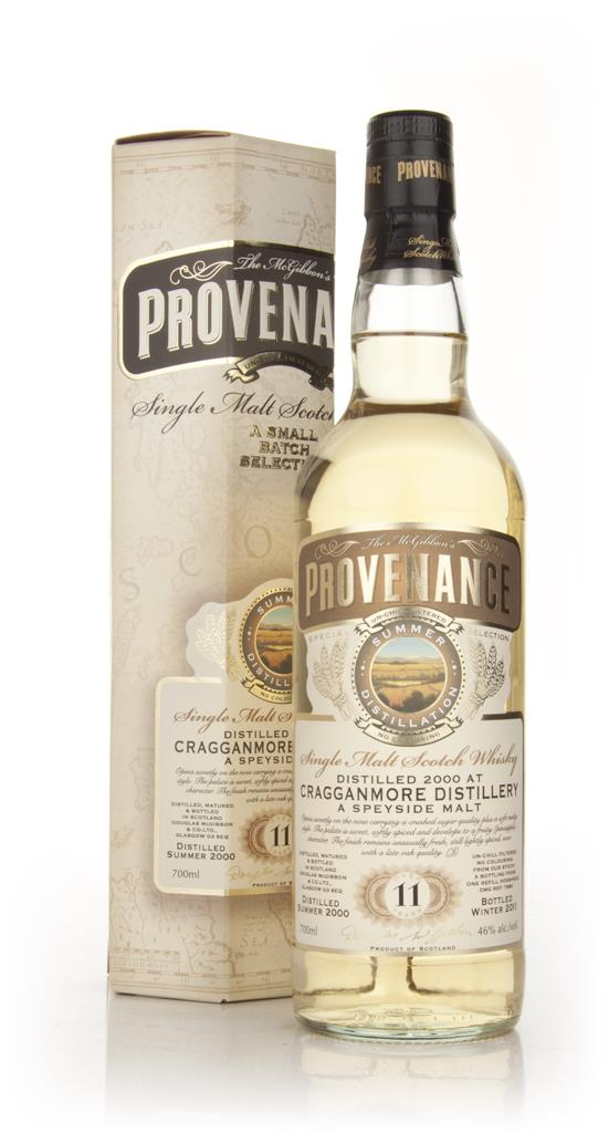 Cragganmore 11 Year Old 2000 - Provenance (Douglas Laing) Single Malt Whisky
