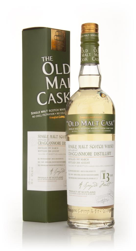Cragganmore 13 Year Old 1997 - Old Malt Cask (Douglas Laing) Single Malt Whisky