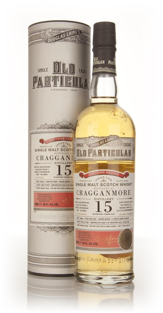 Cragganmore 15 Year Old 1998 (cask 10063) - Old Particular (Douglas La Single Malt Whisky