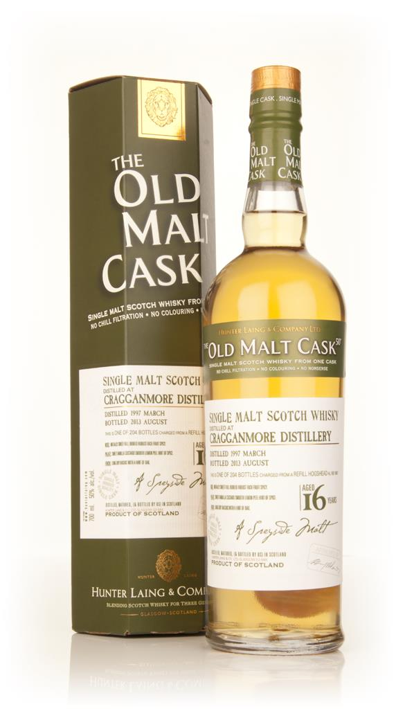 Cragganmore 16 Year Old 1997 (cask 9931) - Old Malt Cask (Hunter Laing Single Malt Whisky