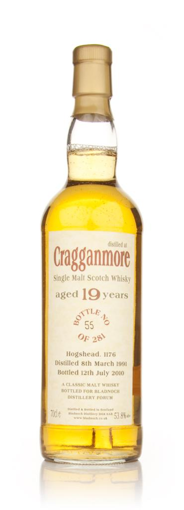 Cragganmore 19 Year Old 1991 (Bladnoch) Single Malt Whisky