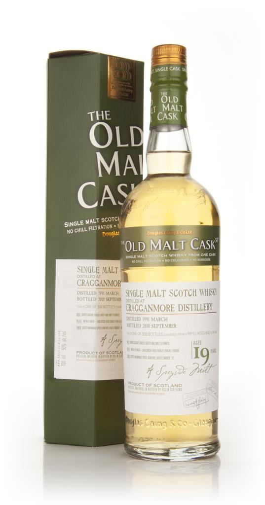 Cragganmore 19 Year Old 1991 - Old Malt Cask (Douglas Laing) Single Malt Whisky