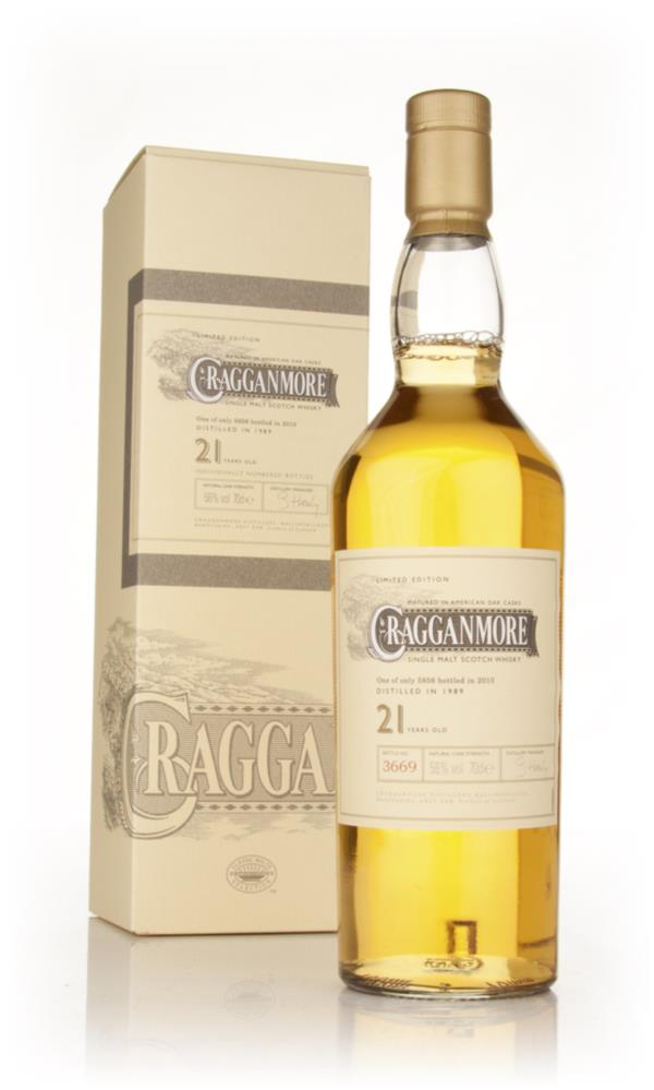 Cragganmore 21 Year Old (2010 Release) Single Malt Whisky