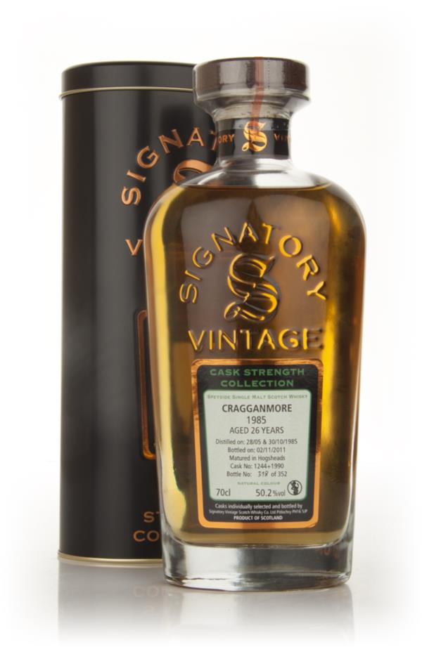 Cragganmore 26 Year Old 1985 Casks 1224 + 1990- Cask Strength Collecti Single Malt Whisky