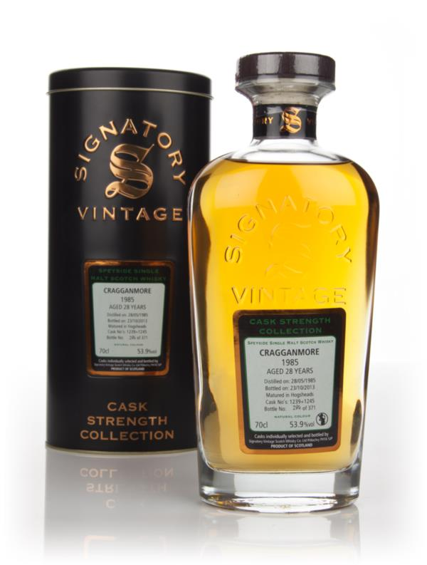 Cragganmore 28 Years Old 1985 (casks 1239+1245) - Cask Strength Collec Single Malt Whisky