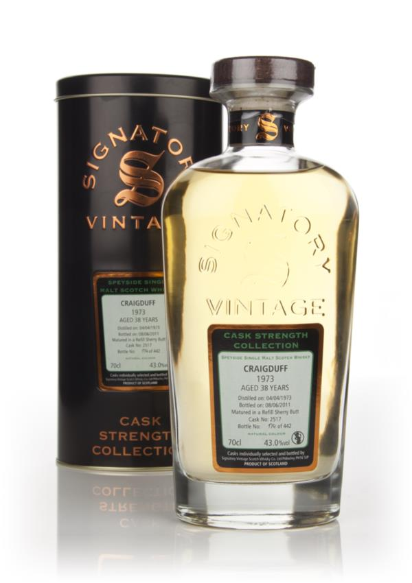 Craigduff 38 Year Old 1973 Cask 2517 - Cask Strength Collection (Signa Single Malt Whisky