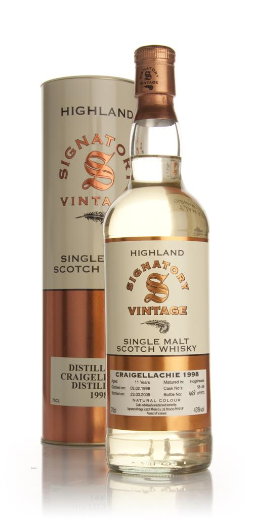 Craigellachie 11 Year Old 1998 (Signatory) Single Malt Whisky