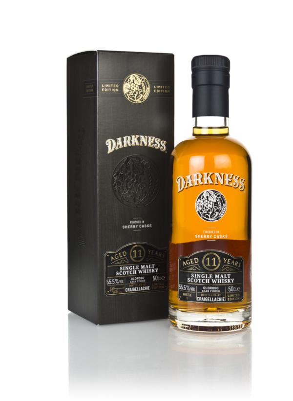 Craigellachie 11 Year Old Oloroso Cask Finish (Darkness) Single Malt Whisky