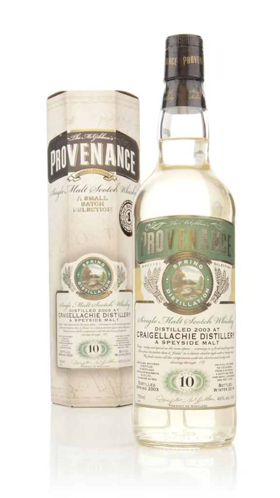 Craigellachie 10 Year Old 2003 - Provenance (Douglas Laing) Single Malt Whisky