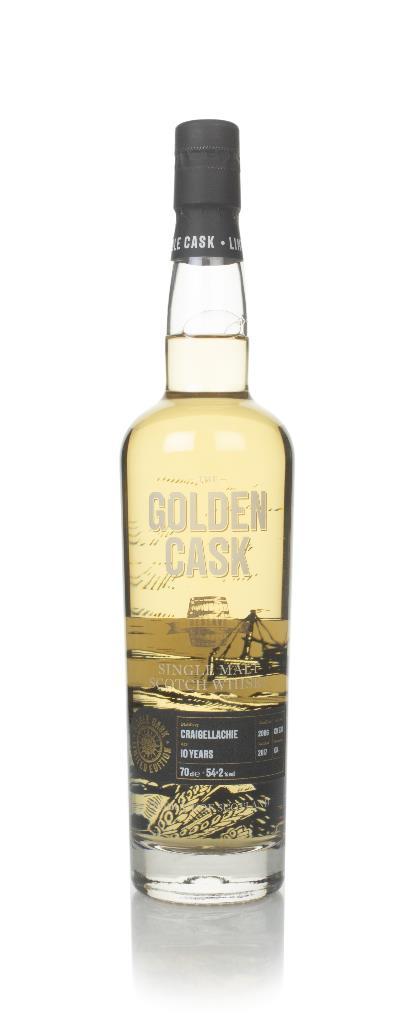 Craigellachie 10 Year Old 2006 (cask CM237) - The Golden Cask (House o Single Malt Whisky