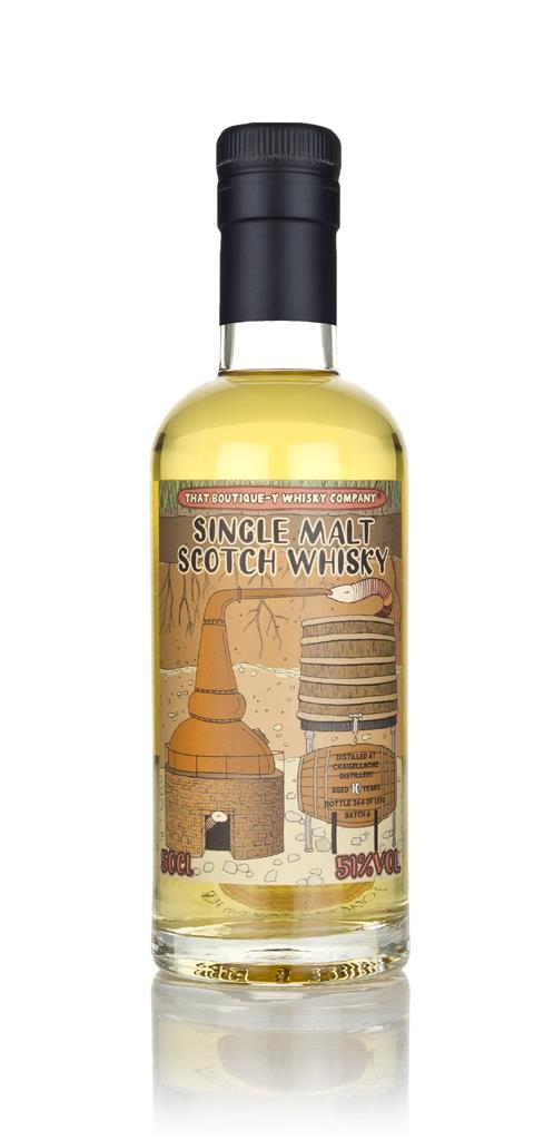 Craigellachie 10 Year Old - Batch 6 (That Boutique-y Whisky Company) Single Malt Whisky