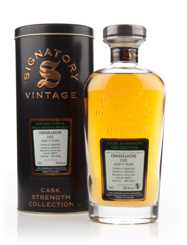 Craigellachie 11 Year Old 2002 (cask 900077) - Cask Strength Collectio Single Malt Whisky