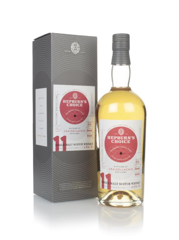 Craigellachie 11 Year Old 2008 - Hepburn's Choice (Langside) Single Malt Whisky